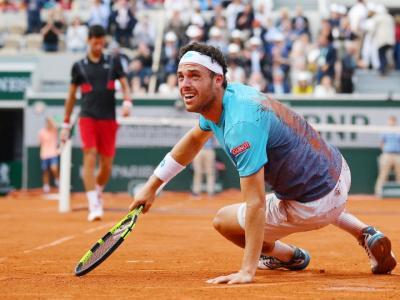 Roland Garros, Cecchinato si ferma in semifinale: passa Thiem 7-5 7-6 6-1