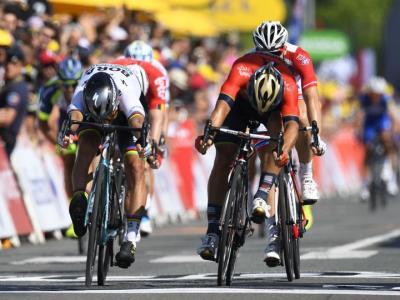 Tour de France 2018, tris di Peter Sagan. Thomas conserva la Maglia Gialla