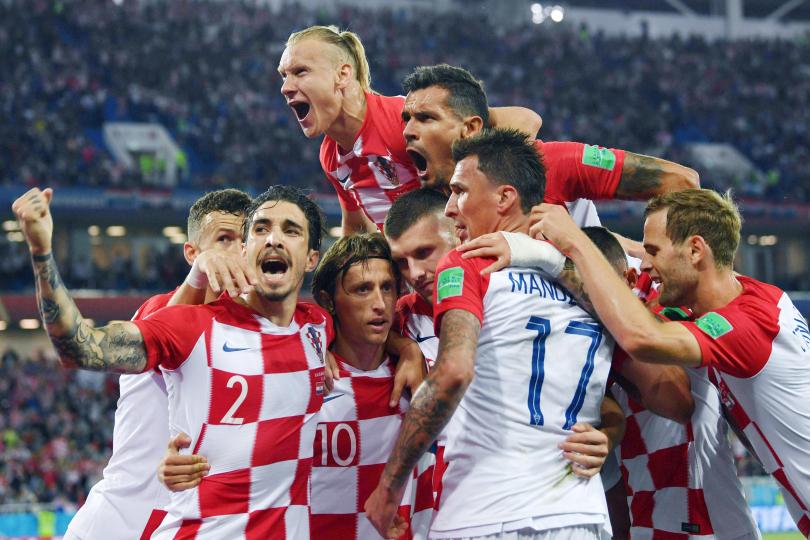 Esultanza Croazia