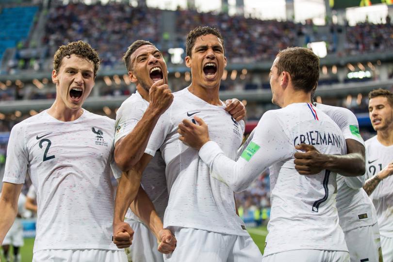 Francia (gol Varane)