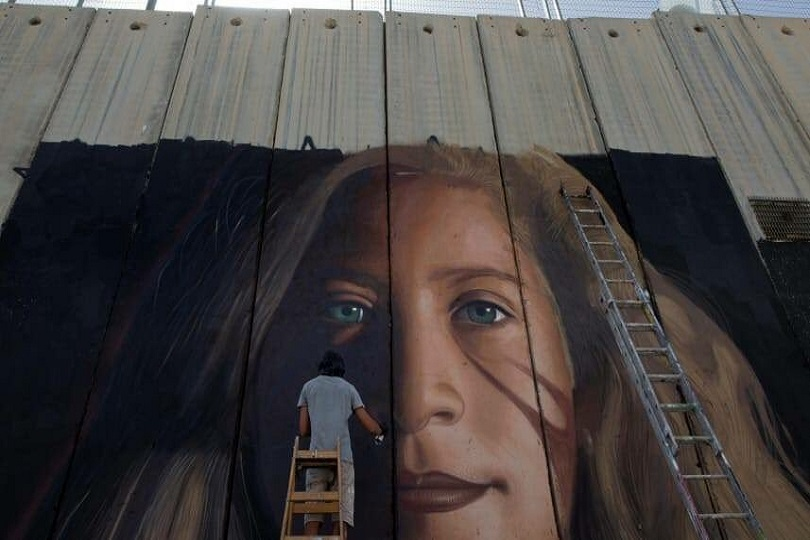 Murales Ahed Tamimi