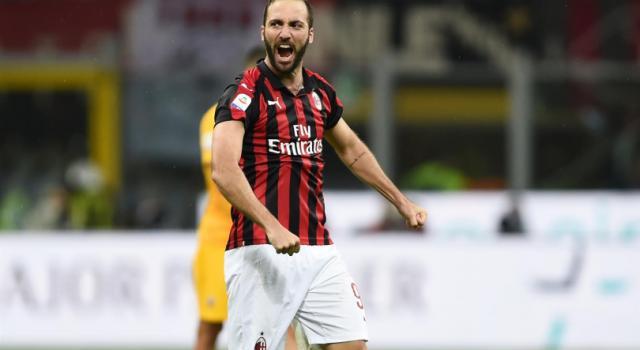 """Higuain a Sky: """"Col Dudelange gara da vincere. Al Milan sono felice"""""""