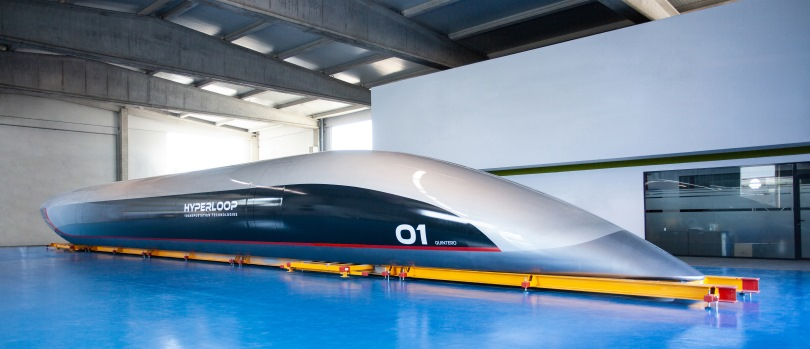 Capsula Hyperloop Quintera One