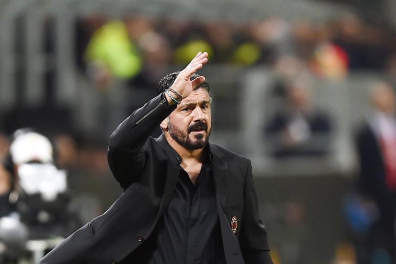 Gennaro Gattuso Milan Calhanoglu