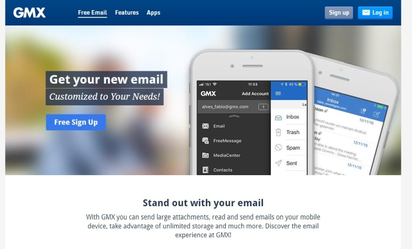 email gratis GMX Mail
