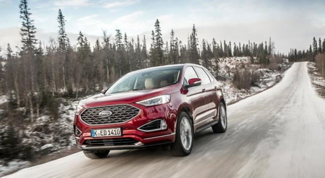 Nuova Ford Edge, il Suv all'insegna della tecnologia