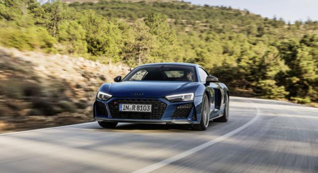 Nuova Audi R8, velocità e sicurezza per un'esperienza di guida unica