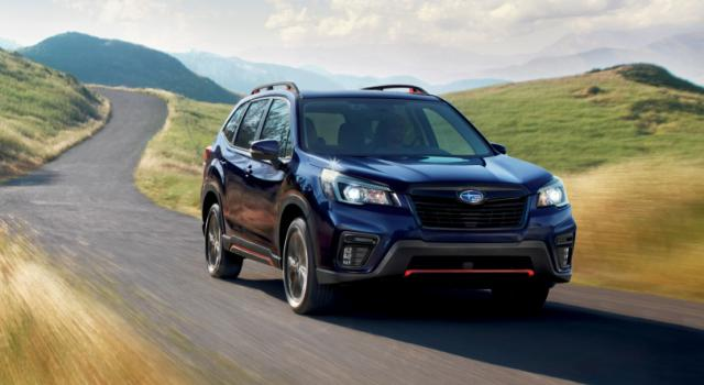 La nuova Subaru Forester all'avanguardia nella sicurezza
