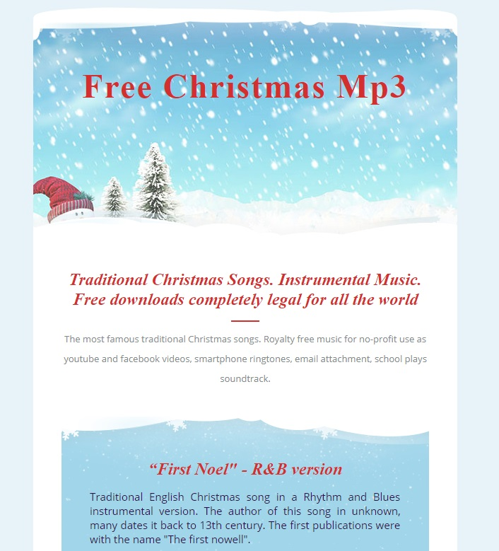 CFree Christmas MP3