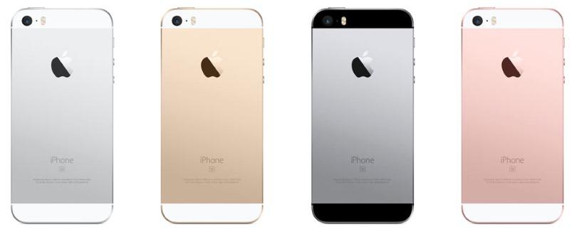Tecnologie abbandonate iPhone SE