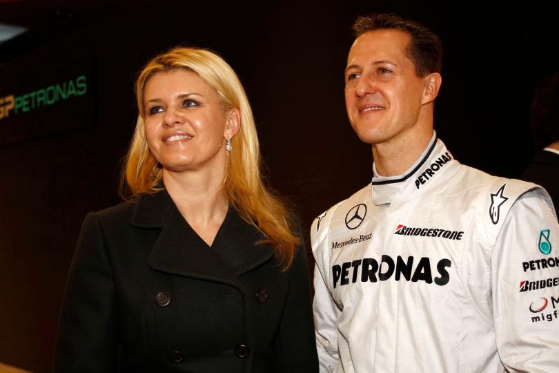 Corinna Betsch e Michael Schumacher