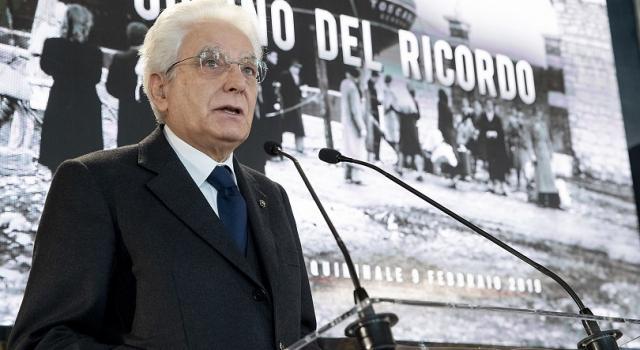 Giorno del Ricordo delle Foibe, Mattarella: no al negazionismo