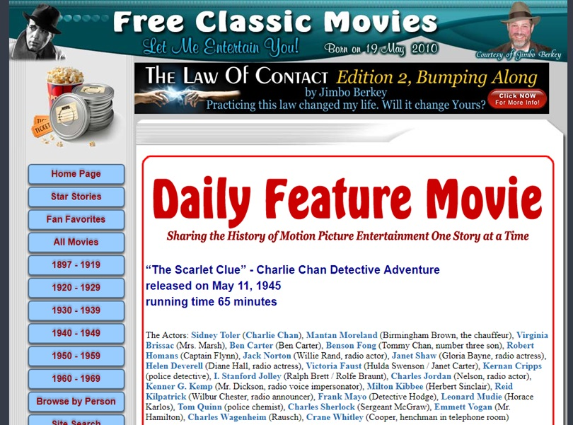 Film in streaming gratis Free Classic Movies