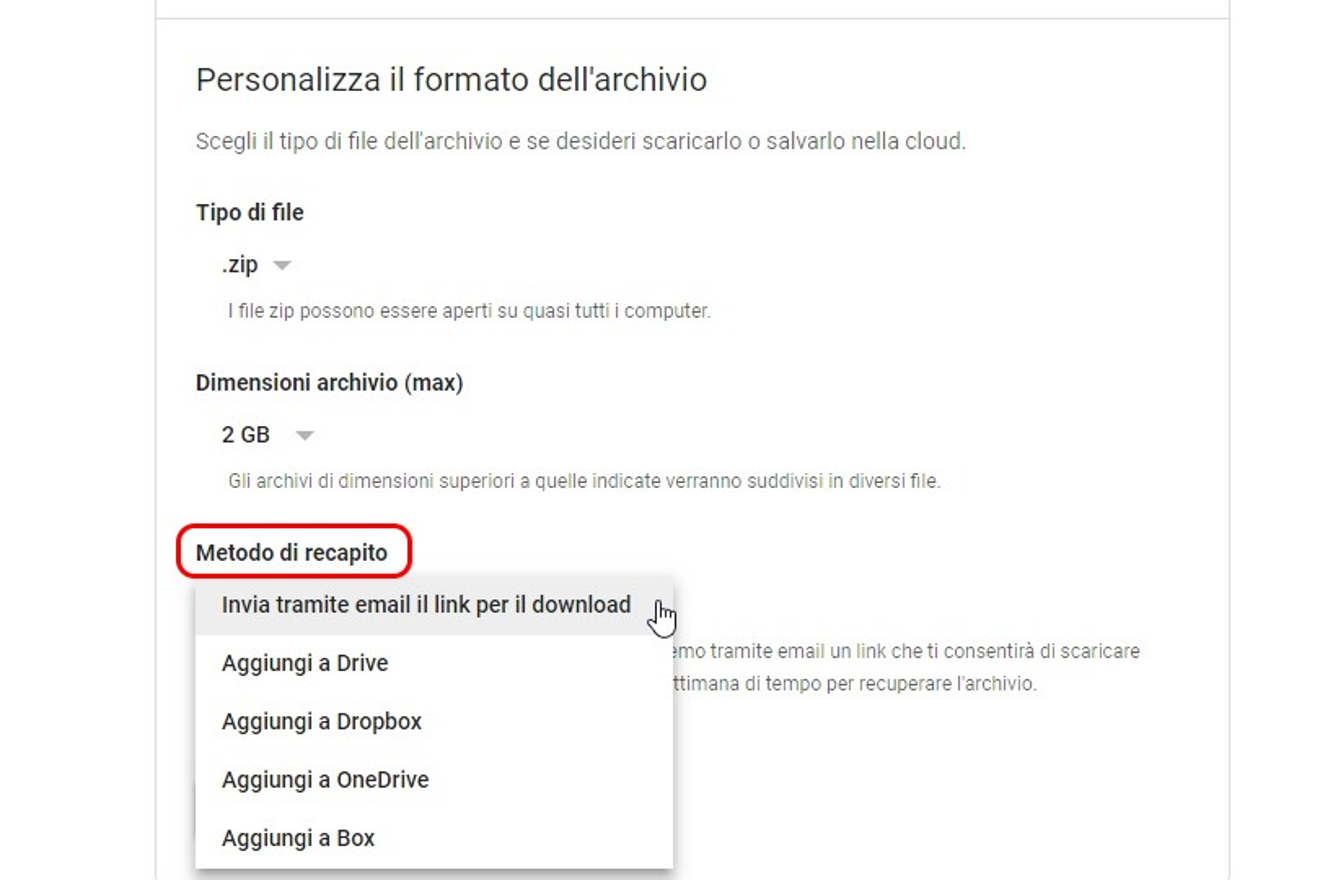Google Plus chiude metodo di recapito