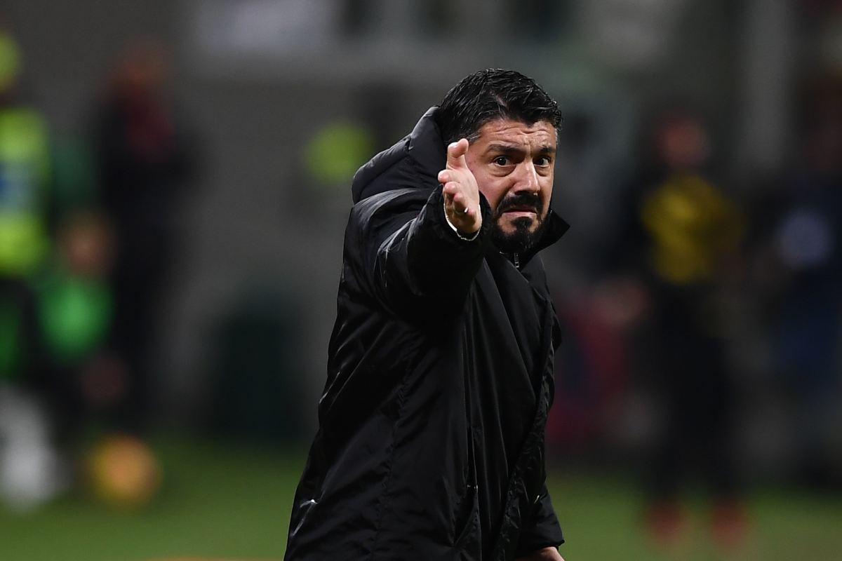 Gennaro Gattuso Unai Emery Milan