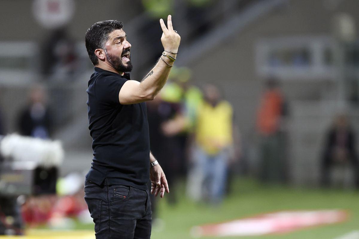 Milan-Bologna Torino-Milan Parma-Milan Gennaro Gattuso Milan-Udinese Juventus-Milan Milan-Bologna Bakayoko