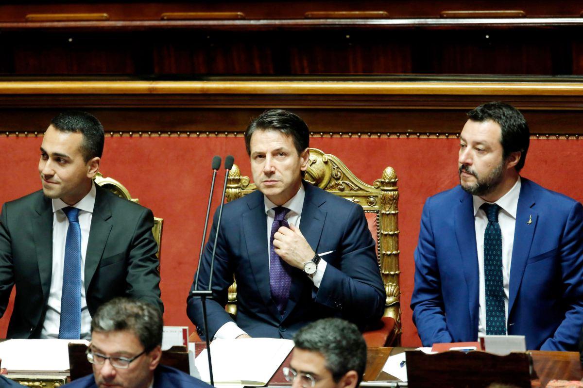 Giuseppe Conte Matteo Salvini Luigi Di Maio
