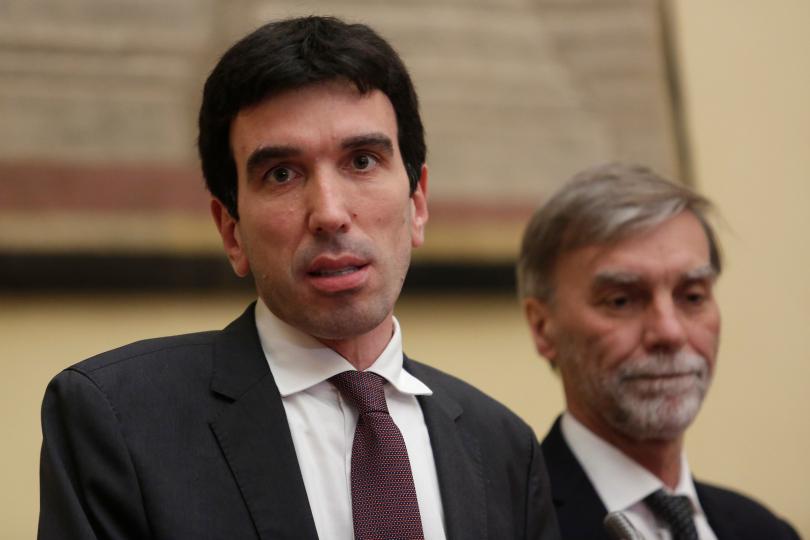 Maurizio Martina e Graziano Delrio