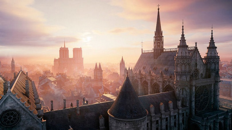 Assassins creed Unity Vista Notre Dame