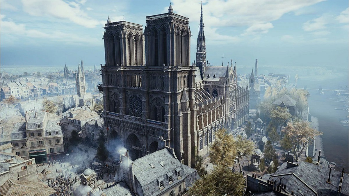 Assassins creed Unity Vista Notre Dame