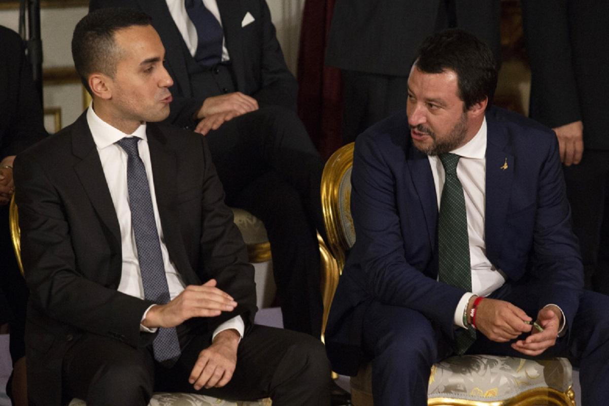 Lauigi Di Maio e Matteo Salvini
