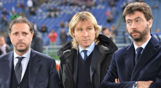 Juventus Paratici Nedved Wesley Agnelli