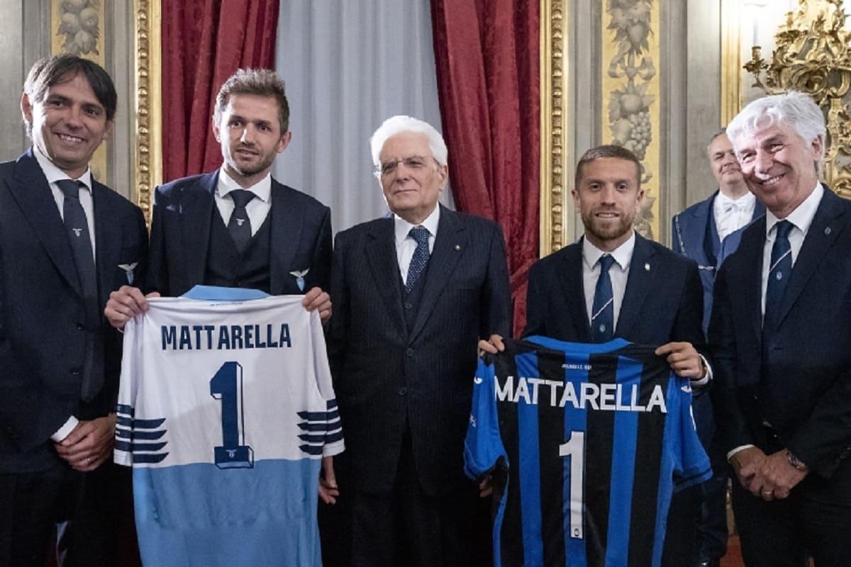 Sergio Mattarella Coppa Italia