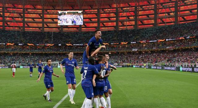 Finale Europa League, Chelsea-Arsenal 4-1: trionfo dei Blues