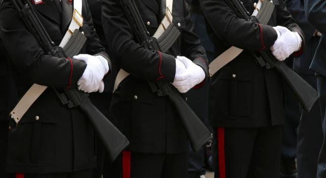 Carabinieri parata