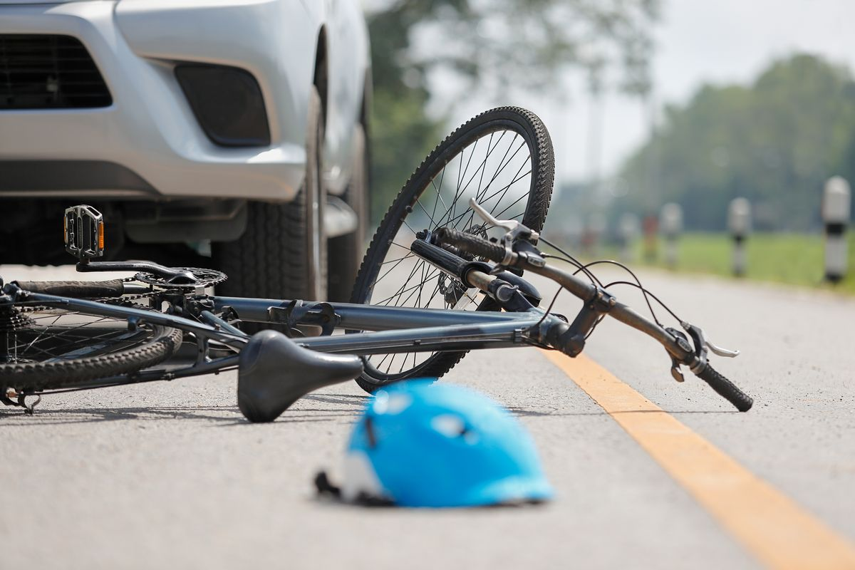 Incidente bici auto