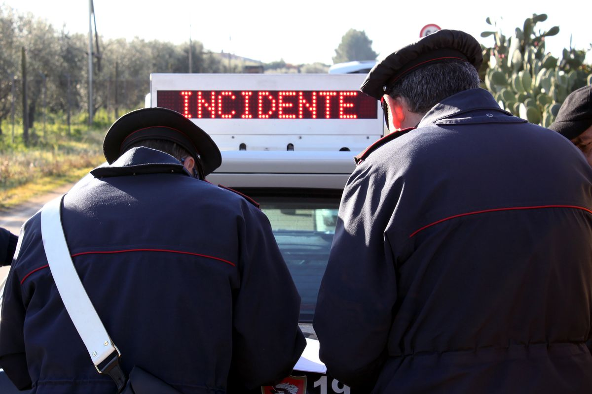 Incidente carabinieri