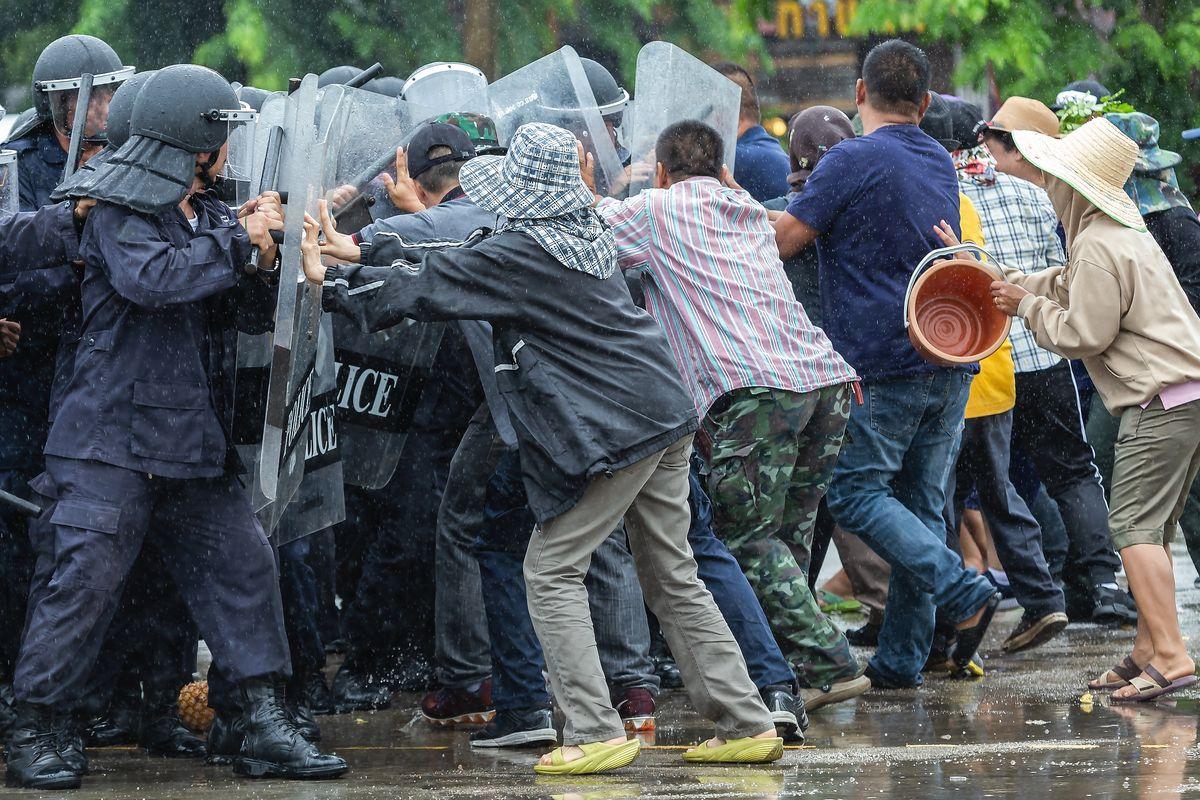 Manifestazione polizia