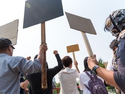 Google, centinaia di dipendenti in piazza contro le molestie sul posto di lavoro