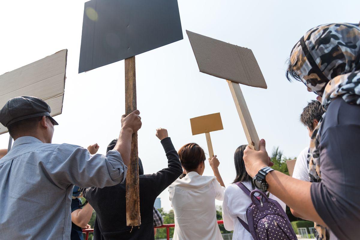 Sciopero manifestazione