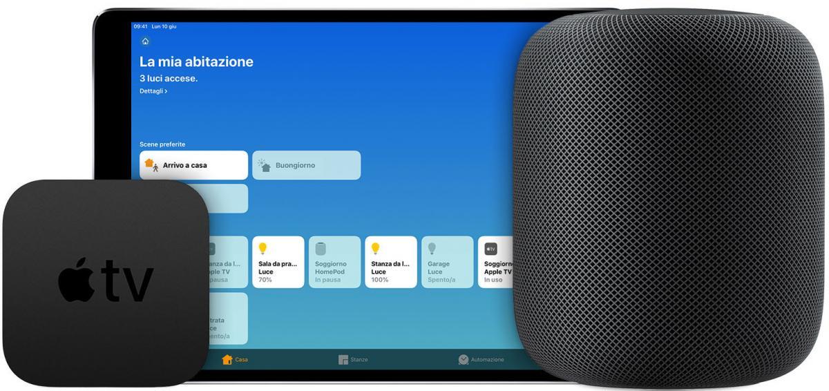 registrazioni Siri HomePod