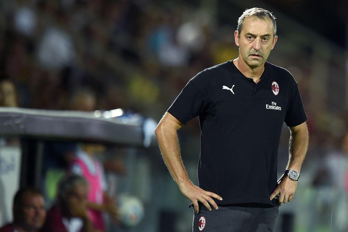 Andrea Conti Boban Marco Giampaolo Milan Verona-Milan