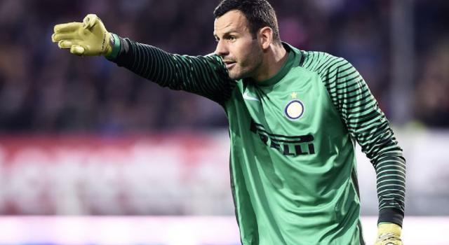 Inter, Conte in ansia per Handanovic: derby a rischio per il portiere