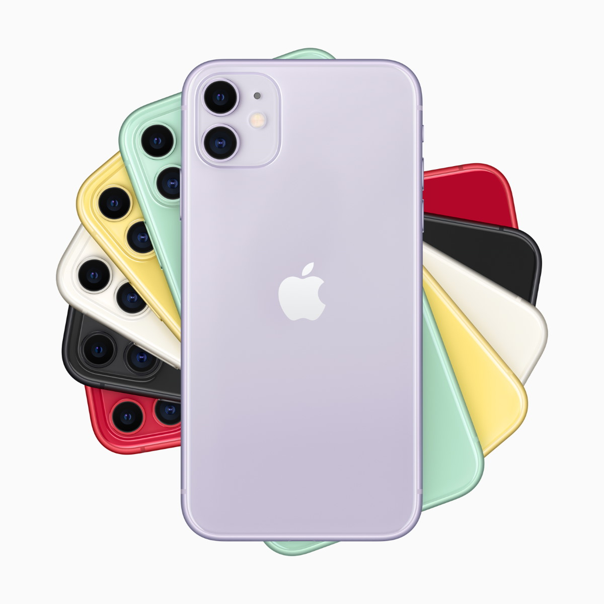 Apple iphone 11 rosette family lineup