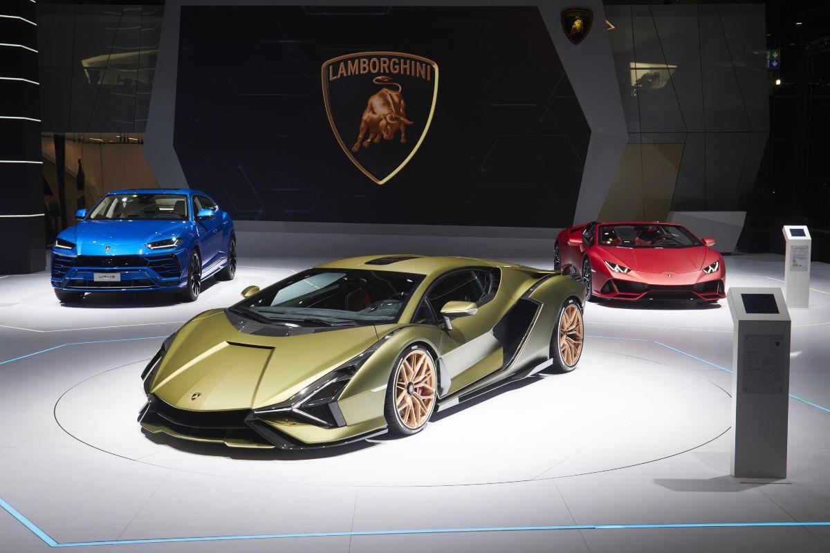 Lamborghini Sain