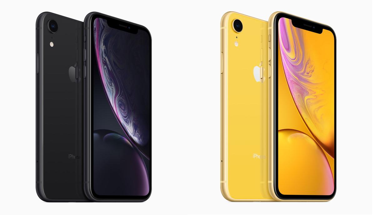 CS iPhone XR due colori