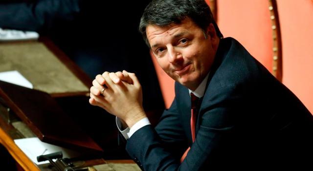"""Renzi, """"Andare a votare significa regalare a Salvini pieni poteri"""""""