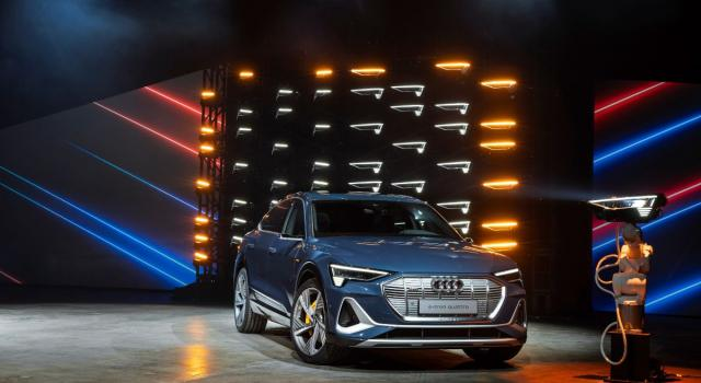 Audi e-tron Sportback, il nuovo coupé SUV