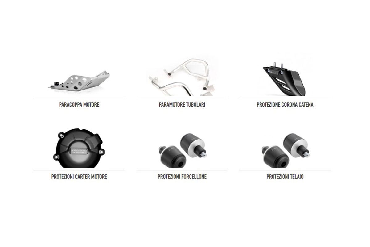 protezioni moto
