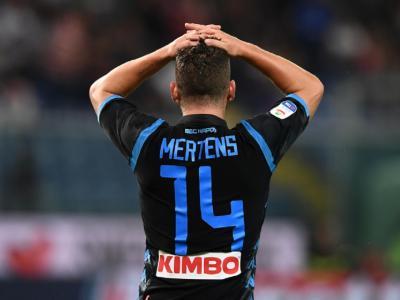Serie A, il Napoli frena contro il Genoa: Lazovic risponde a Mertens
