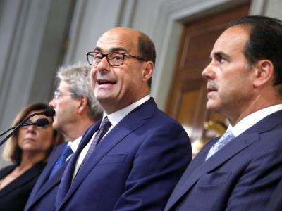 Nicola Zingaretti, il governatore del Lazio e segretario del Pd