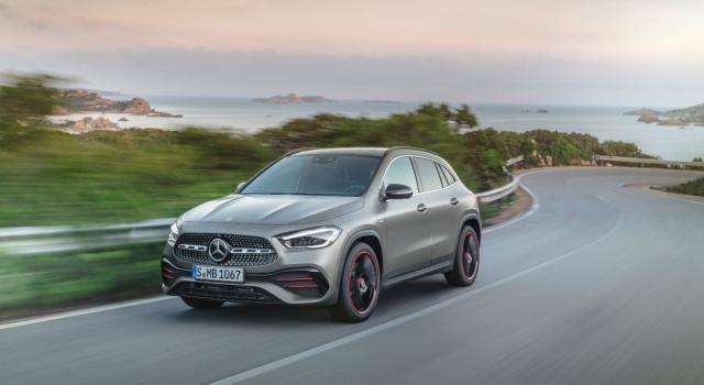 Svelata la Mercedes GLA 2020