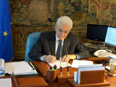 Cinque anni fa l'elezione di Sergio Mattarella a presidente della Repubblica