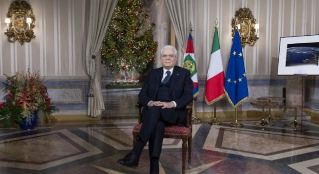 """Mattarella: """"L'Italia vera è quella dell'altruismo e del dovere"""""""