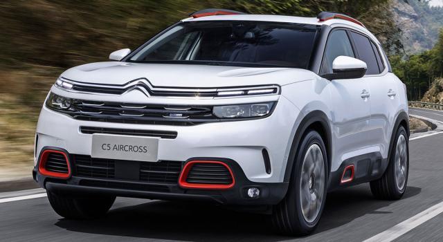 Nuovo SUV Citroën C5 Aircross: comfort di guida al top