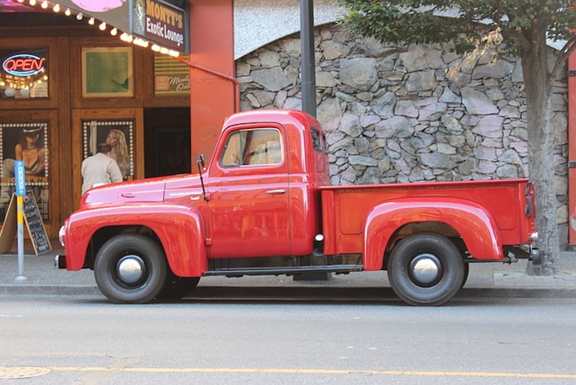 Camioncino americano